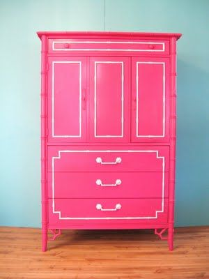 Colorful Furniture Makeovers - Classy Clutter