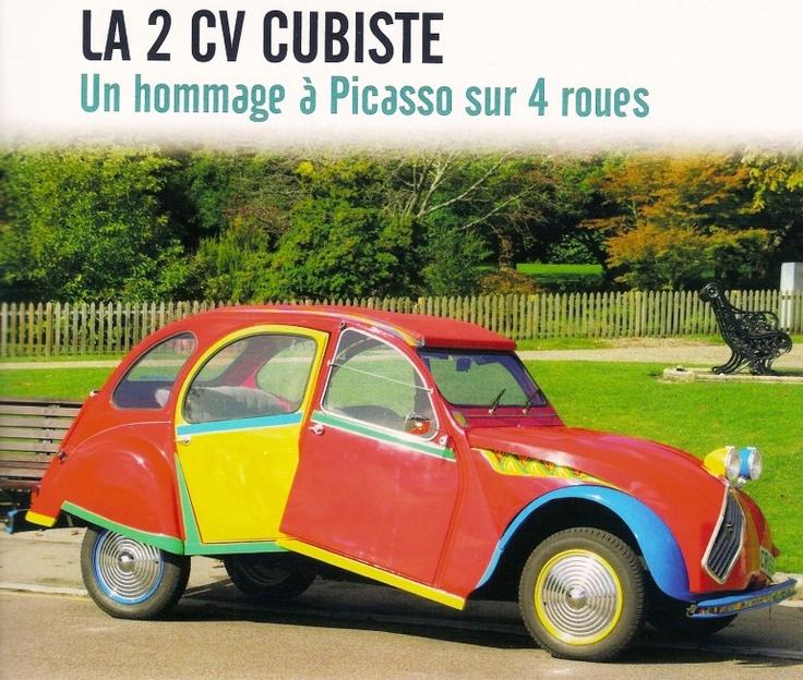 Tuning 2 CV Picasso - Picasso car