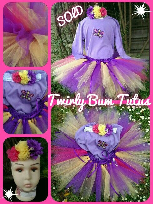 Size 1 tutu 3pce outfit ....sold!  Custom orders welcome