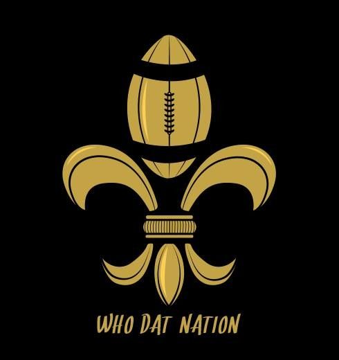 Who dat gonna beat dem Saints? Who dat! Who dat!