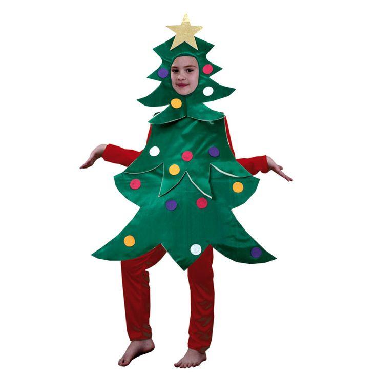 Disfraz de Árbol de Navidad #disfracesnavidad #disfracesnavideños