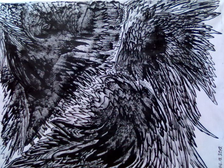 E6-Original Abstracr Contemporary Textured Painting(((mixed)media on satin50x40cm2012