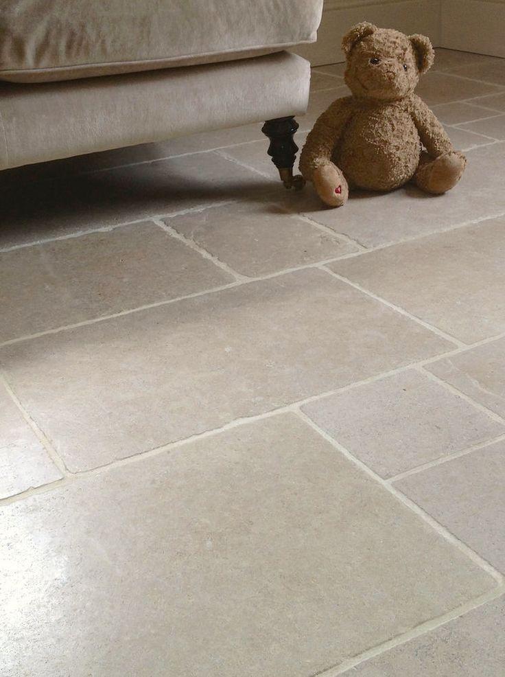 Cathedral Antique Tumbled Limestone floor tile sample. in Home, Furniture & DIY, DIY Materials, Flooring & Tiles | eBay