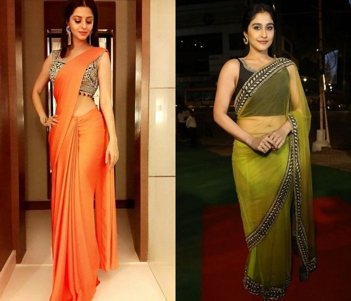c597e31af75 11 Saree and Blouse Ideas to Rock a Farewell Party