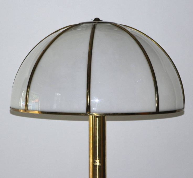 """Gabriella Crespi Signed """"Fungo"""" Floor Lamp, circa 1960 Italy 