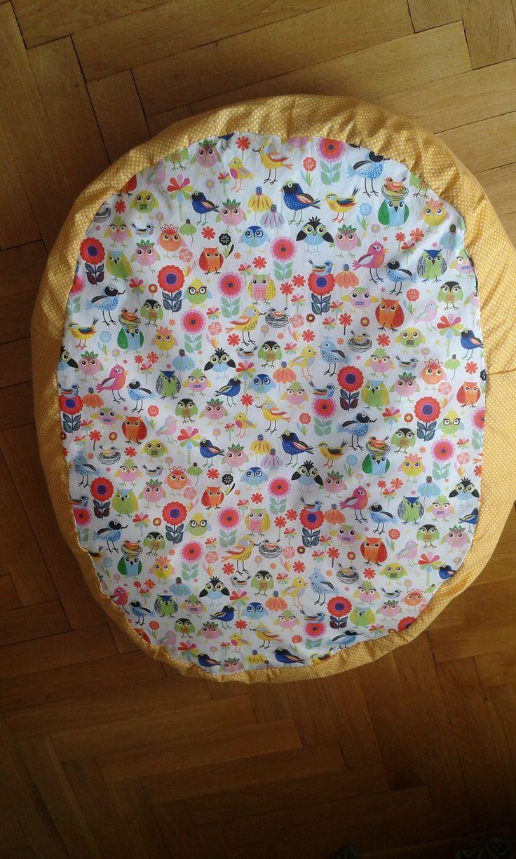 Hnízdečko/lehačka/vak pro miminko Krásné hnízečko, které se zalíbí Vám i Vašemu miminku. Alternativa lehačky. Velikost od 80 * 60 cm. Náplní jsou polystyrénové kuličky, které se přizpůsobí malé postavičce miminka a připomenou mu pocit v bříšku u maminky. Snímatelný potah je z bavlněného plátna, na přání minky mikroplyš. Vyrobím na zakázku, dle Vašich ...