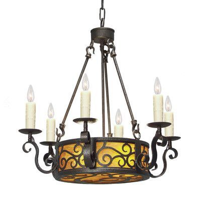 2nd Ave Design Delano 8-Light Candle-Style Chandelier Finish: Pompeii Gold Premium, Acrylic: Earth Marble