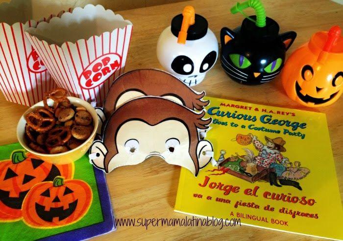"""Super Mama Latina Blog: Una Tarde de película con: Curious George """"A Halloween Boo Fest"""""""