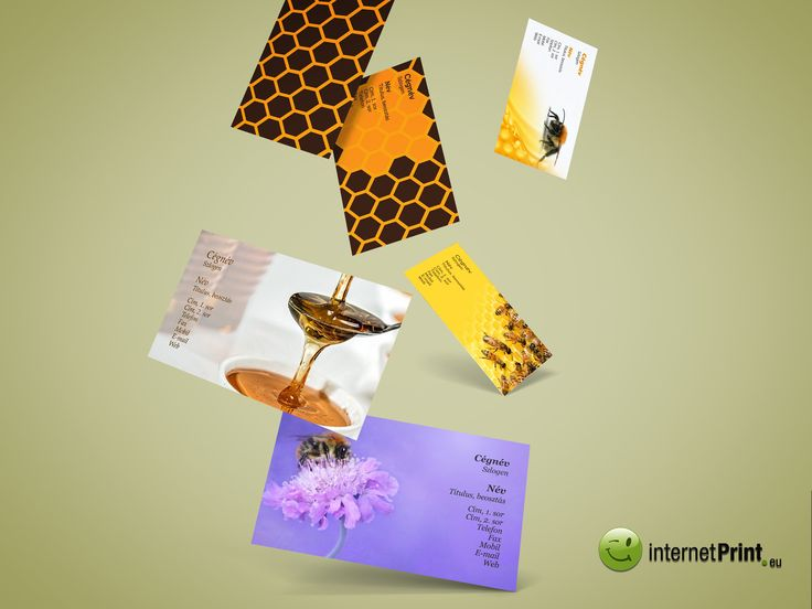 New! Beekeeper Business Card Templates. Bee Happy!