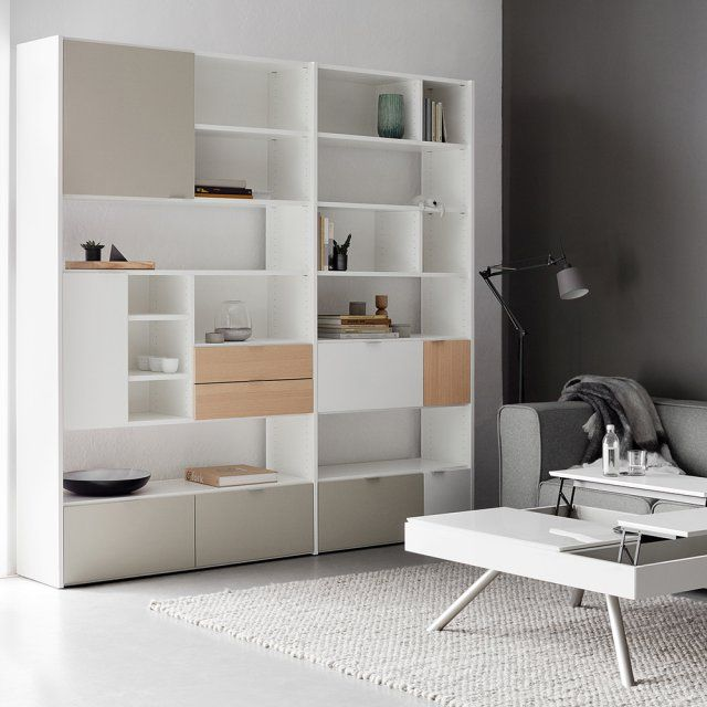 285 best images about biblioth que et tag res bookcases and shelves on pin - Bibliotheque casier ikea ...