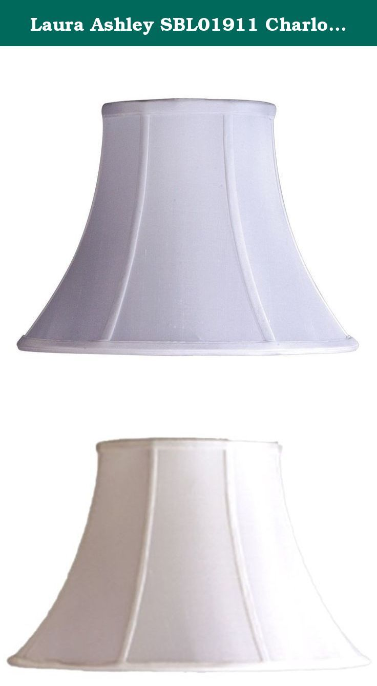 1532 best lamp shades lamps shades lighting ceiling fans laura ashley sbl01911 charlotte 11 inch bell shade white charlotte 11 white aloadofball Images