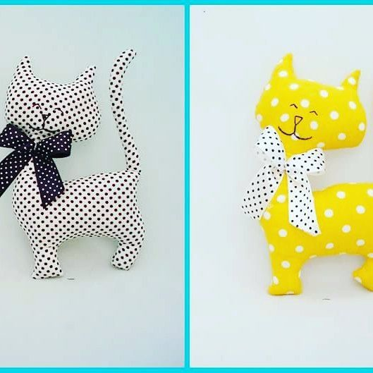 #Dorarte #sprzedam #maskotki #handmade #dla #dzieci #kids  Ktoś przygarnie kotka?