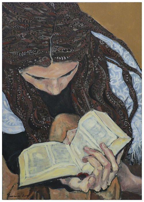 Detener al aburrimiento: lee!  (Ilustración de Emma Ersek)