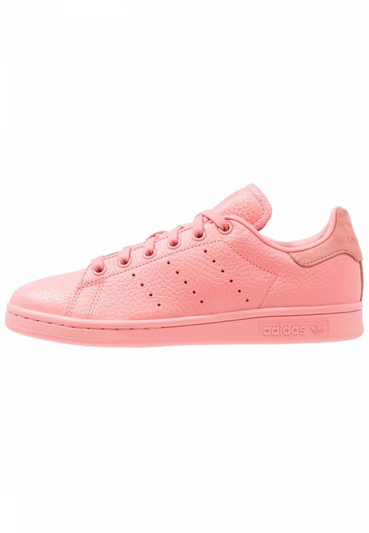 adidas Originals. STAN SMITH - Trainers - tactile rose/raw pink. Pattern:plain. Care instructions:treat with a suitable protector before wear. Sole:synthetics. Padding type:Cold padding. Shoe tip:round. Heel type:flat. Lining:imitation leather/ textile. shoe fas...