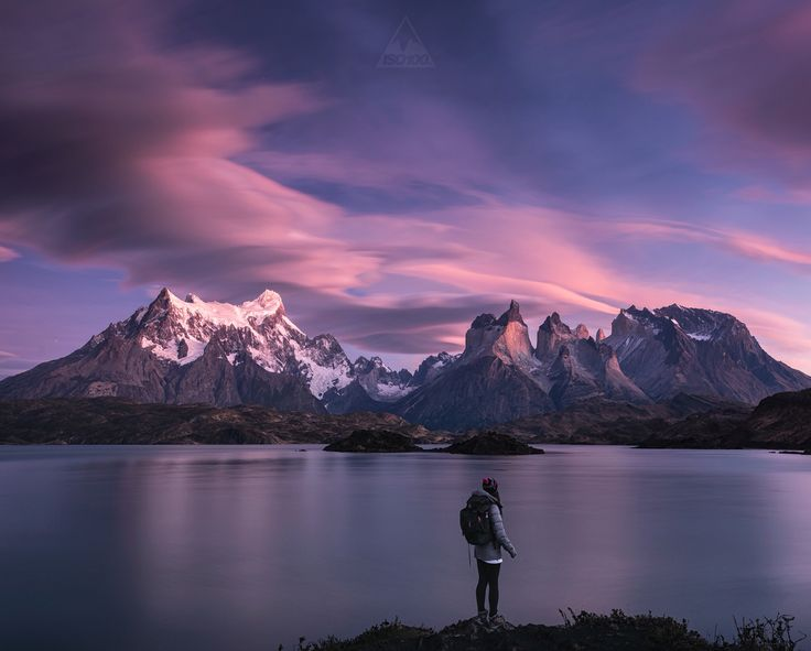 The most epic selfie, Patagonia