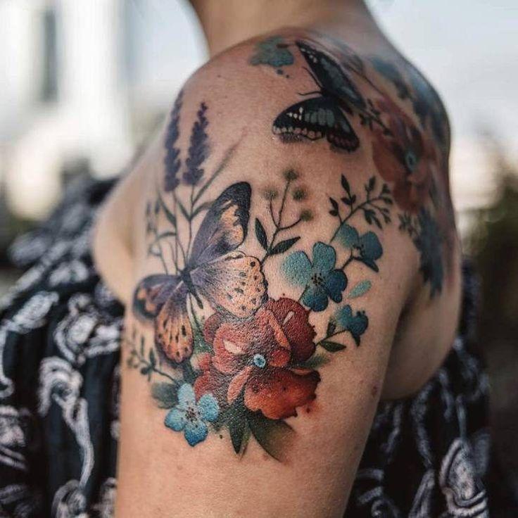 Beautiful Illustrative Tattoos By Aga Yadou
