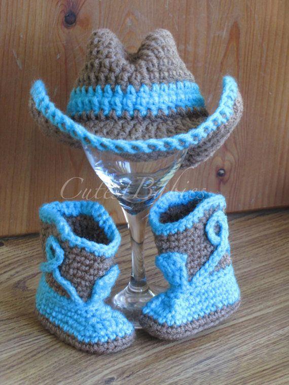 Hey, I found this really awesome Etsy listing at https://www.etsy.com/ru/listing/196156464/newborn-baby-crochet-cowboy-hat-boots
