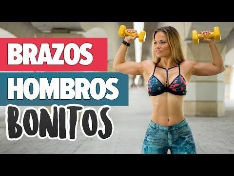 BRAZOS DELGADOS Y DEFINIDOS - Rutina de mañana | Home Upper Body Workout - YouTube