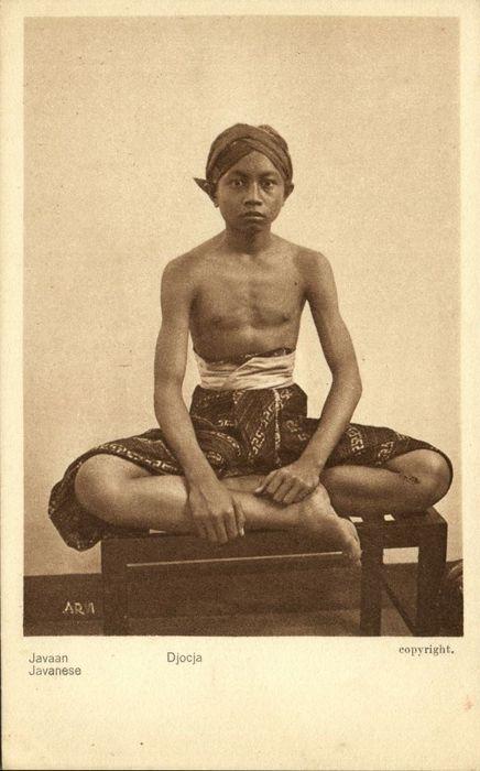 Nederlands-Indie 25x; Indonesie, Indonesia, Borneo, JavaHotels, Straat Scenes en Ethnic