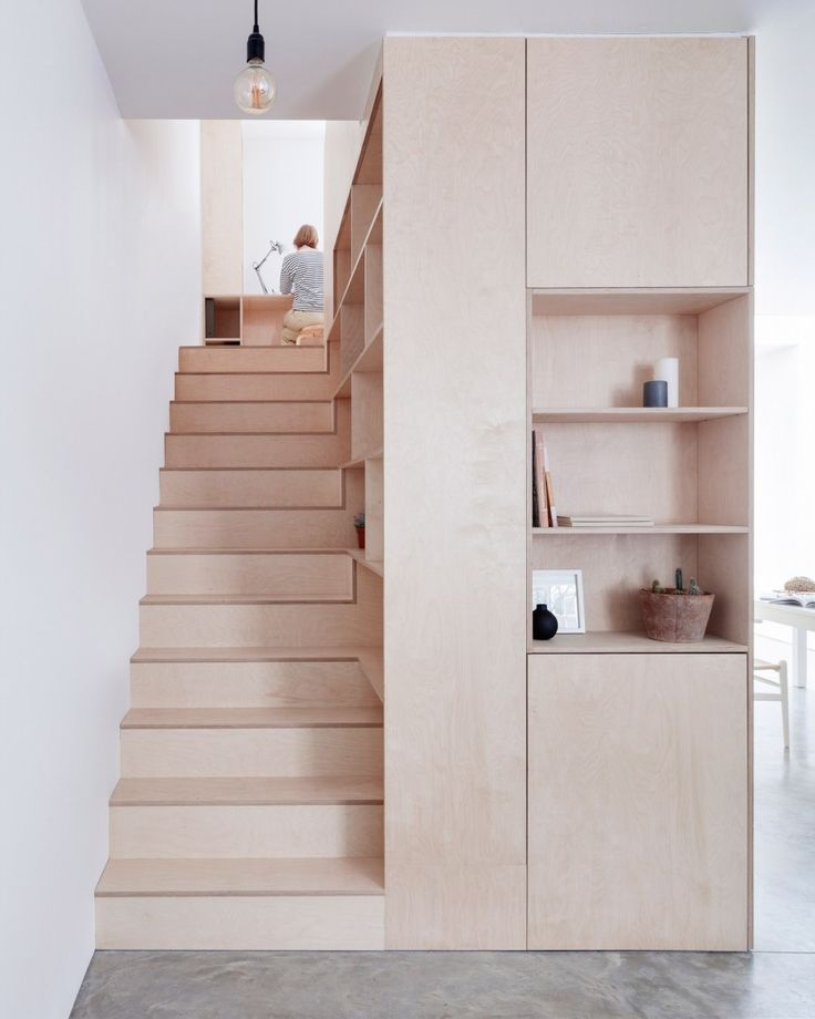 a plywood home | April and May