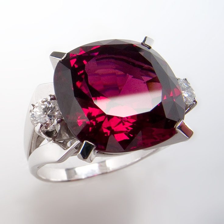 of garnet diamond ring image white product rg gold rhodolite jewelers rings