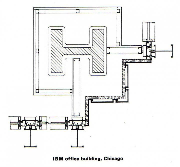 In the February 1972 issue of The Architectural Review, the architect, writer and Architectural Association teacher John Winter analysed the design and development of Mies van der Rohe's metal-clad towers. While we kindly ask our readers to let us know if they happen to find the whole article...