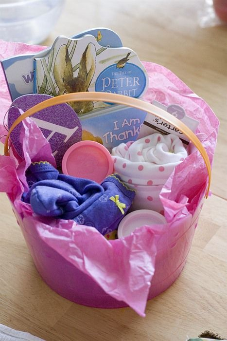 185 best baby easter baskets images on pinterest easter baskets a day in my life easter baby basket negle Image collections