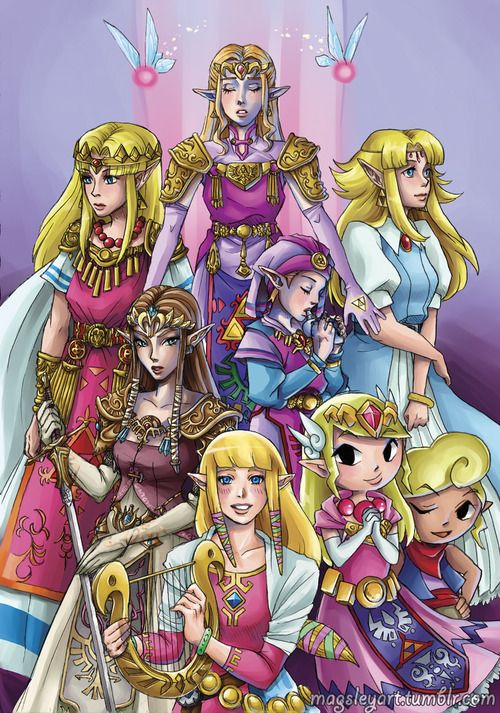 Why Does Zelda Have Brown Hair Instead Of Blonde In