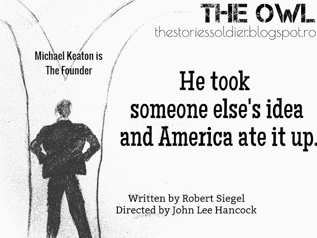 The Owl: Review: The Founder (2017)
