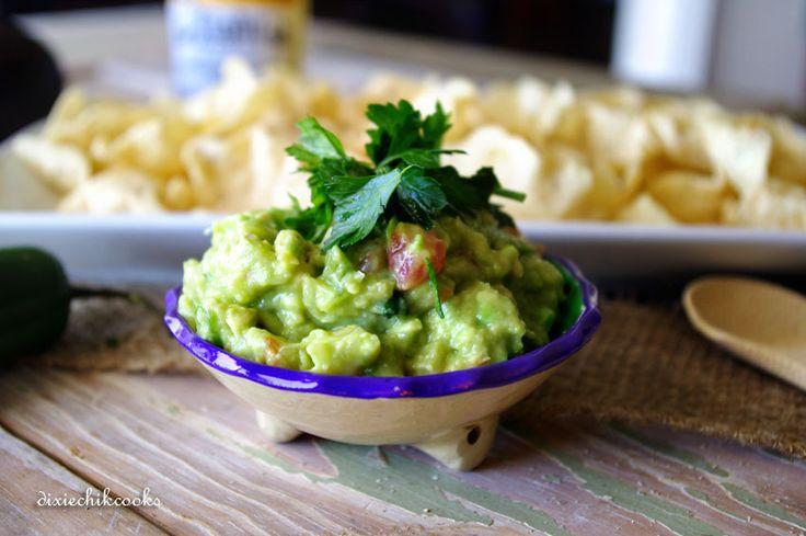 Kiwi Guacamole | Dixie Chik Cooks