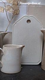 brocante porceleinen snijplank