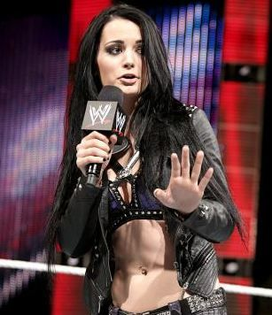 """Raw 7/28/14: AJ Lee confronts her """"frenemy"""" Paige 