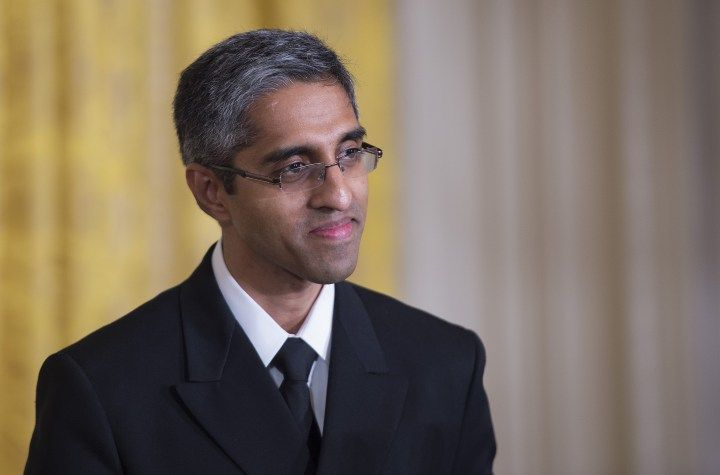 Surgeon General Vivek Murthy was known for his stance on gun violence