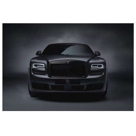 Rolls Royce Ghost Car Large Poster Art Print
