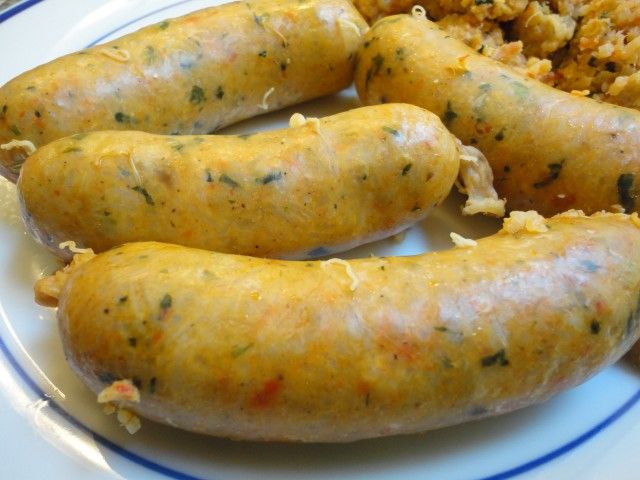 Crawfish Boudin on Plate