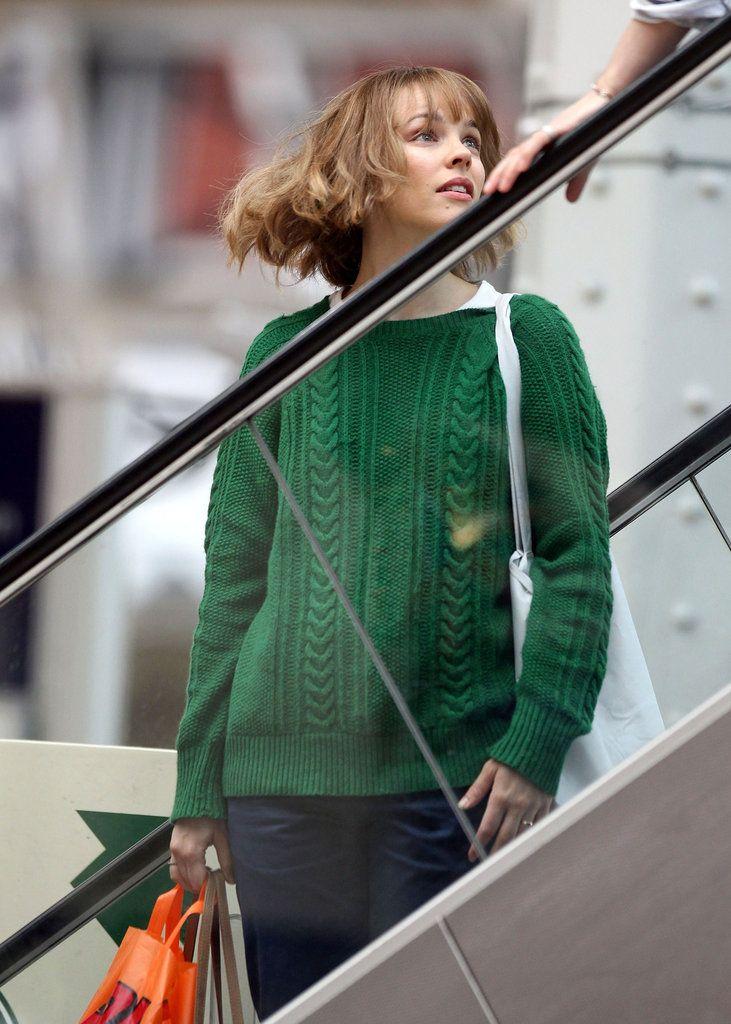 カジュアルファッションもおしゃれにきこなす女優レイチェル・マクアダムス 本人画像