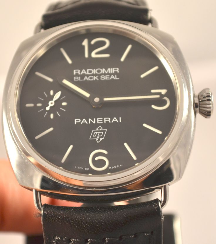 New in stock! Panerai Black Seal Logo PAM 380 complete stock.  Visit my site for details and pricing: vintagewatchtrader.com