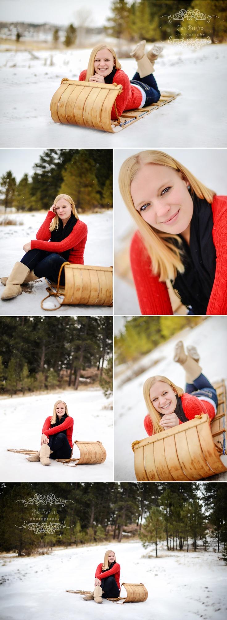 Winter Senior Portraits