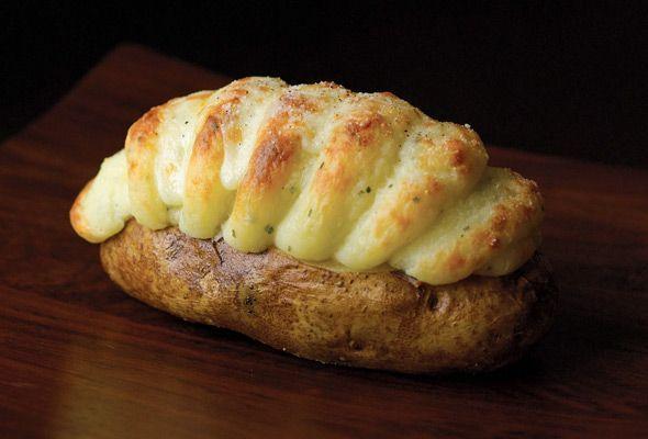 Baked potatoes irlandesi