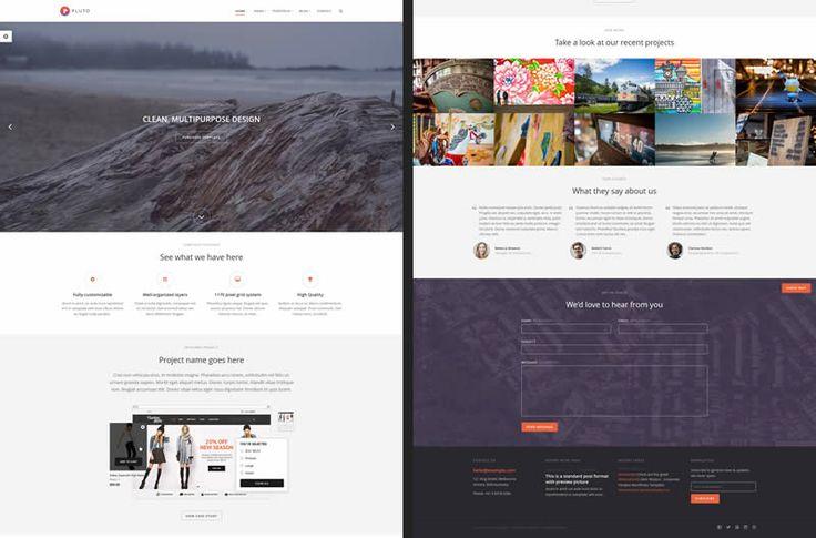 Pluto HTML5 Template