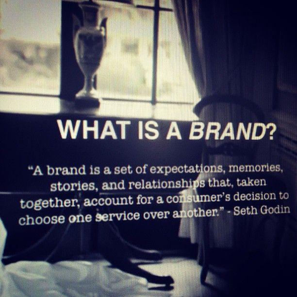 brand seth godin - Branding