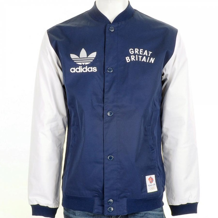 Adidas Originals Jackets > Adidas Originals Team GB Bomber Jacket Indigo Navy > Adidas Originals Jackets Adidas Originals Coats Adidas Originals Harrington Stockists Online UK @ Mainline Menswear Adidas Originals Clothing Adidas Originals Menswear Adidas Originals Clothes Online UK