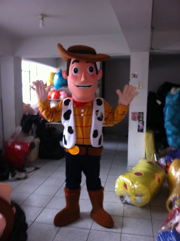 Hire Rent Woody From Toys Story Costume Mascot Hire