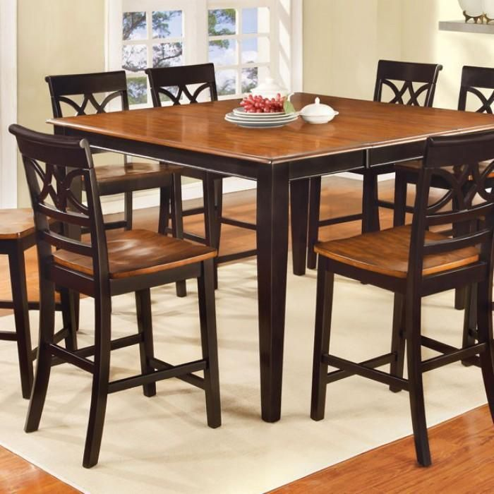 Torrington Ii Cottage Style Counter Height Table In Black And