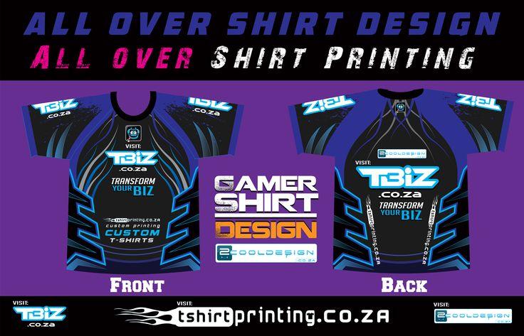 GAMER SHIRT DESIGN POSTER ! Transform your BIZ, visit http://Tbiz.co.za