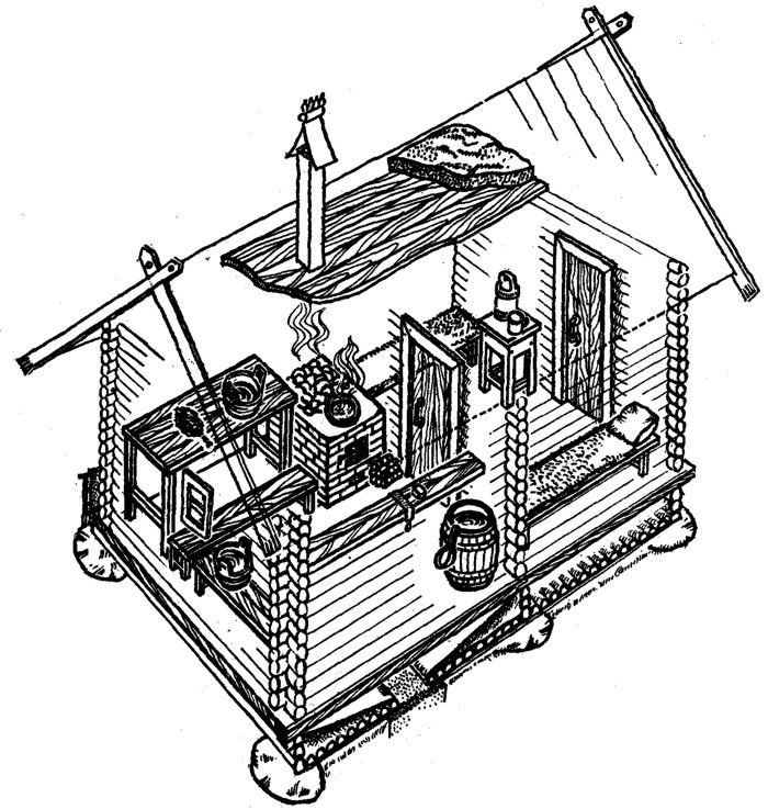 Banya - A Russian Sauna