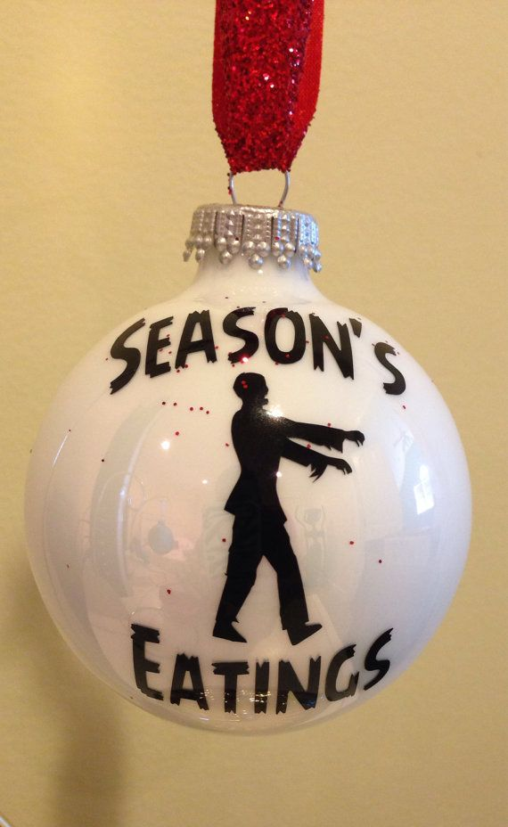 The walking dead zombie personalized Christmas by FifilaGs on Etsy