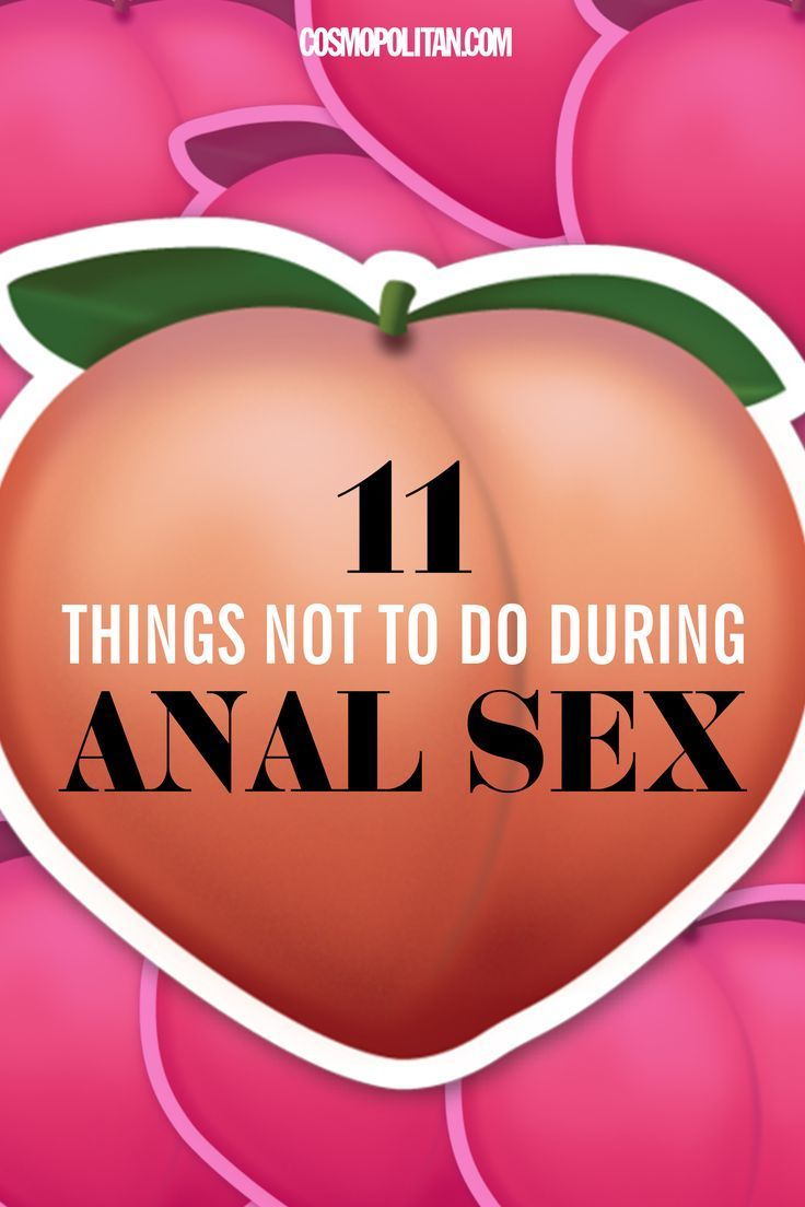 Tip for first time anal sex