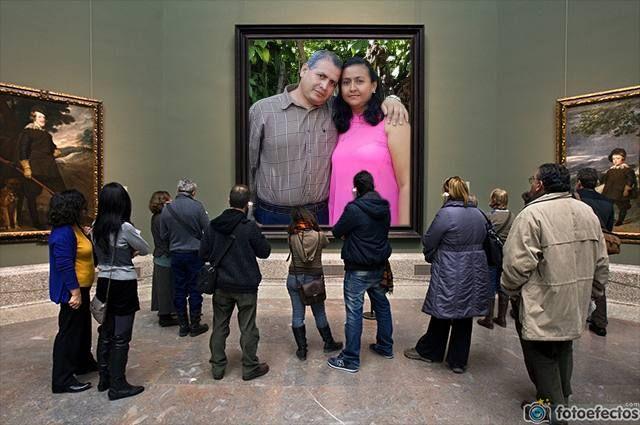 fotomontaje defotomontaje-museo-prado-pintura 2495