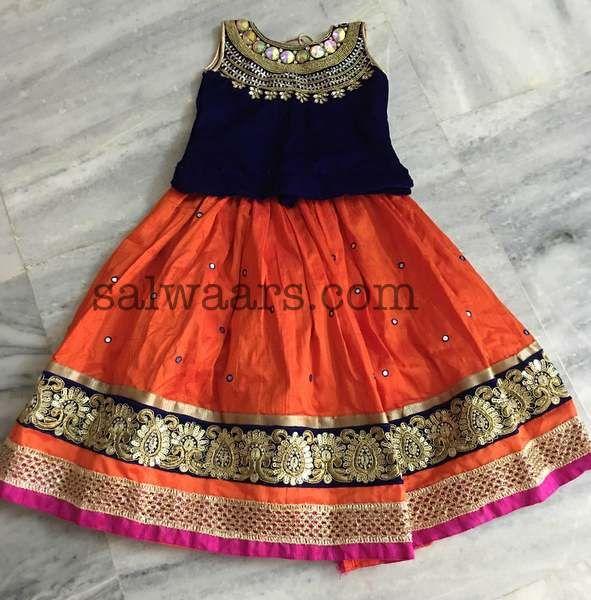 Mirror Work Lehenga - Indian Dresses